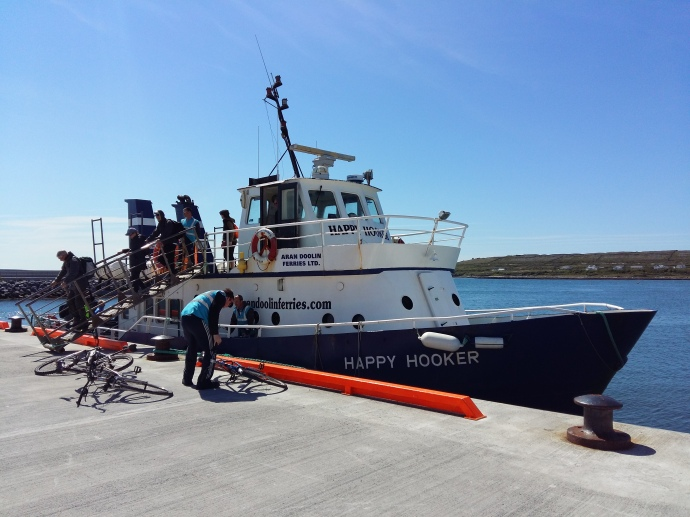 Ferry to the Aran Islands