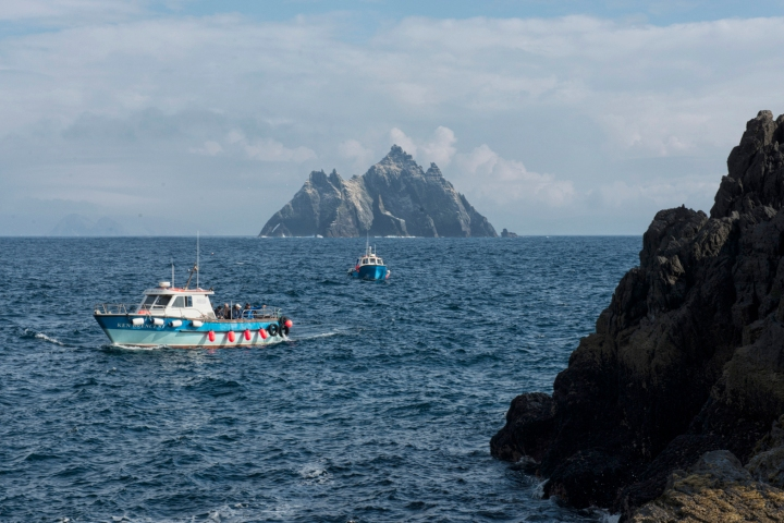 Leaving the Skelligs