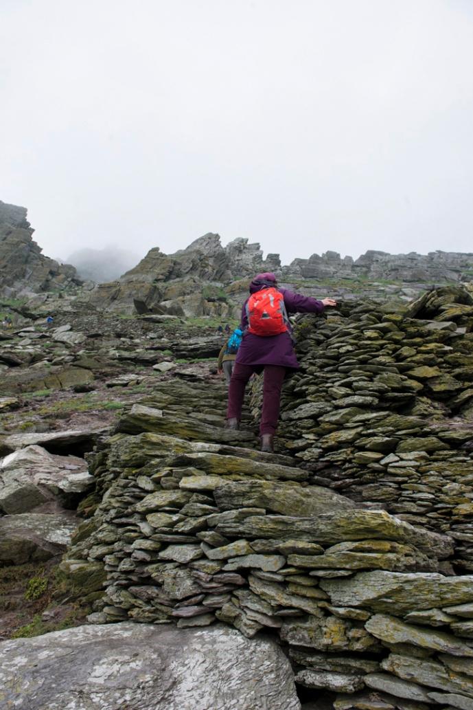 Skellig Michael Climb