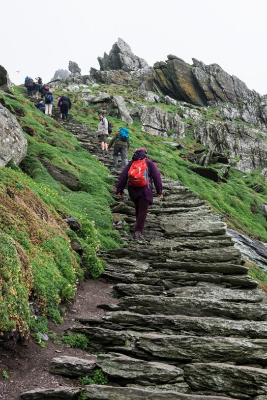 Skellig Michael Keep Climbing