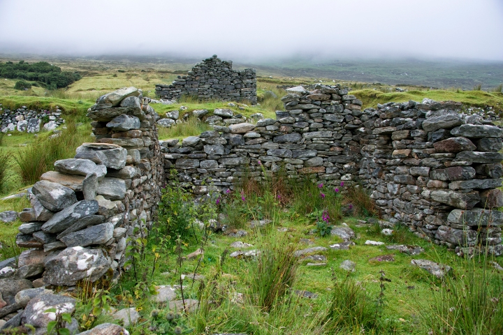 Achill Island Deserted Village