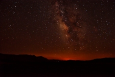 Milky Way over L.A.